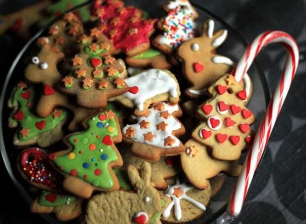 Рождественская сказка: рецепт приготовления праздничного имбирного печенья