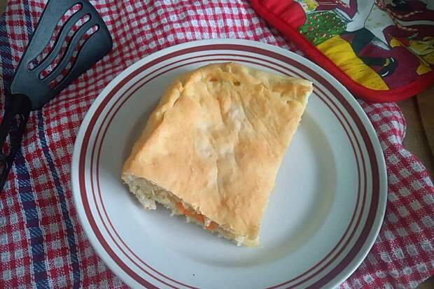 Простое тесто для пирога без молока и яиц. Подходит для постной выпечки
