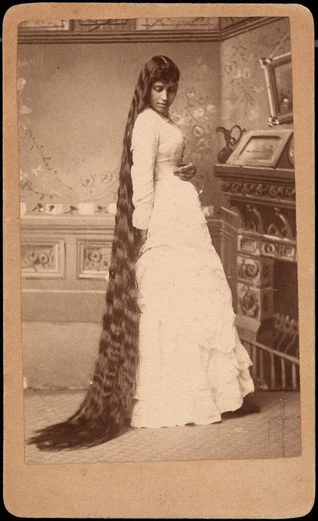 Rapunzels14 История красоты — известные «рапунцели» XIX века