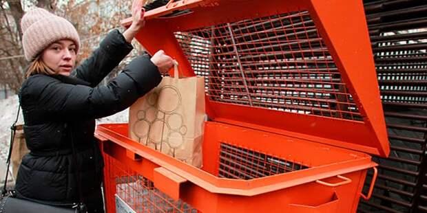 Коммунальщики из Бегового поставили на место мусорный бункер