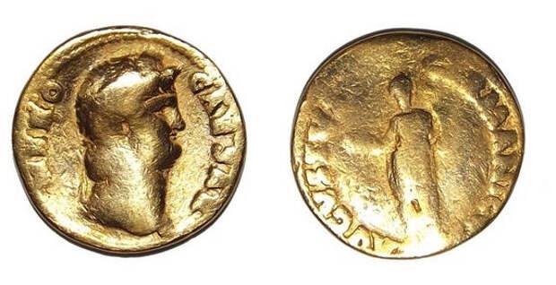 В Англии нашли редкую римскую монету с изображением Нерона