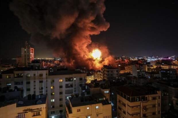 Огненный ад в Израиле от ударов сотен палестинских ракет