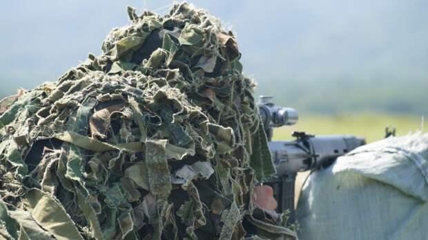 Снайперы ЮВО использовали «сирийскую» методику для борьбы с БПЛА на учениях
