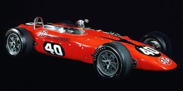 Paxton STP Парнелли Джонса — ГТД, свыше 500 л.с., полный привод и… до слез обидное поражение на 'Инди-500' 1967 года авто, автоспорт, газотурбинный двигатель, гтд, двигатель, мотор, технологии, турбина