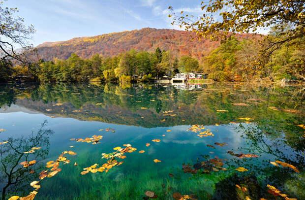 Церик-Кель, или Нижнее Голубое озеро Фото: Alex Svirkin
