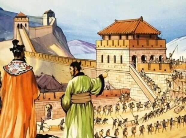 Говорят, что китайцы изобрели Великую Китайскую стену. Но сдается мне, что придумали ее европейские монахи-иезуиты по чертежам константинопольских зодчих