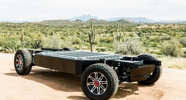 Стартап ATLIS Motor Vehicles начал разрабатывать платформу для электрических грузовиков