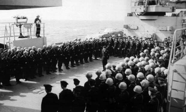 Пираты хотели захватить судно, но на палубе их поджидал спецназ СССР