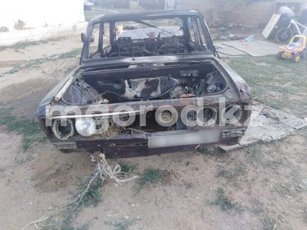 3-летний ребенок сгорел заживо в автомобиле