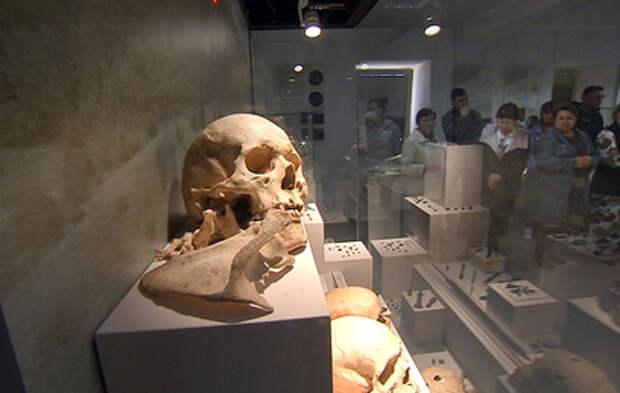 В Херсонесе публике впервые представили уникальные археологические находки