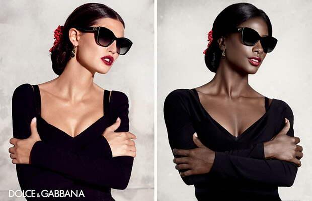 У кого лучше: Темнокожая модель воссоздала рекламные постеры мировых брендов