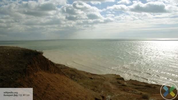 В Крым поставят пресную воду с Азовского моря при помощи скважин