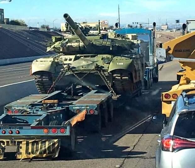 "Откуда в США взялся Т-80УД с секретным модулем ""Нож"""