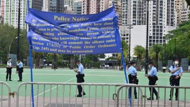 В Гонконге не допустили демонстраций в годовщину Тяньаньмэнь