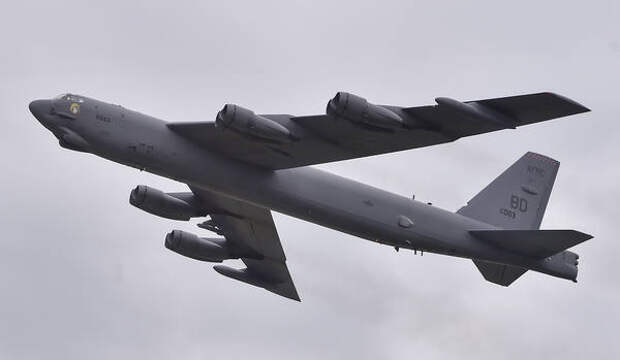 Старый бомбардировщик США ударил ракетой, которой нет
