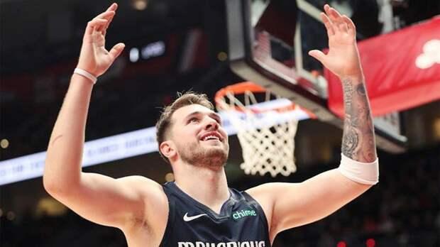 Трипл-дабл Дончича помог «Далласу» победить «Клипперс» в 1-м матче серии плей-офф НБА