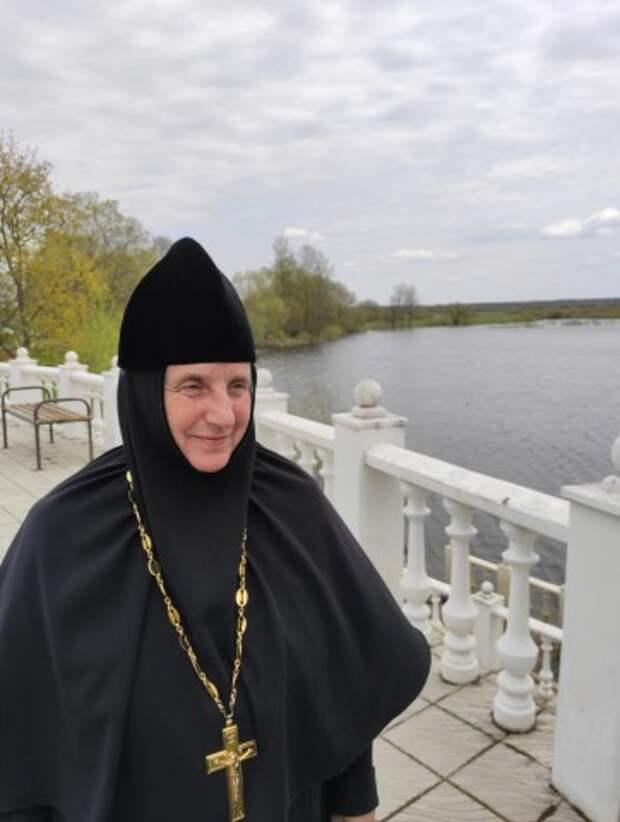 Пасхальный молебен в женском Борколабовском Вознесенском монастыре.