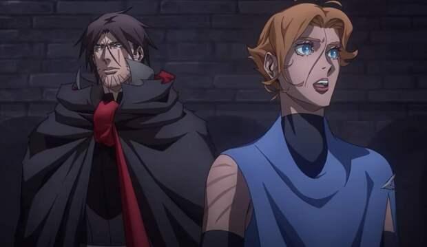 Финальный сезон аниме Castlevania вышел на Netflix