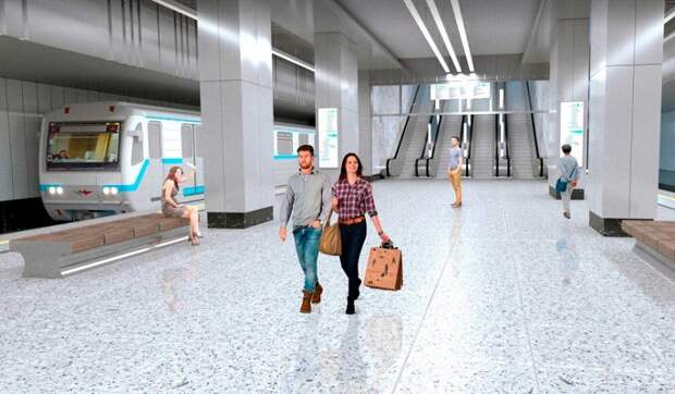 Москвичи проголосуют за название новой станции БКЛ