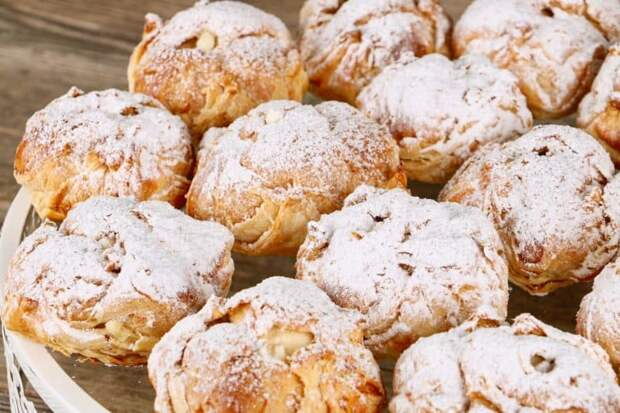 Пирожные Ленинградские. Воздушный, легкий, слоёно-заварной десерт. Вкусно до безобразия 4