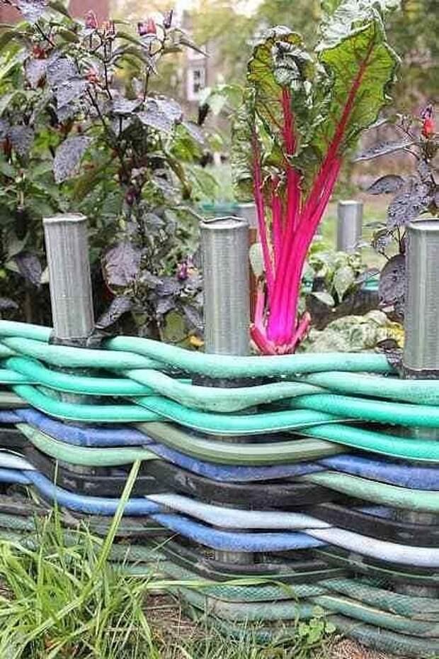 Даже садовому шлангу умельцы нашли оригинальное применение!
