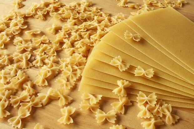 Необычные макароны, приобретающие форму после отваривания, придумали в КНР