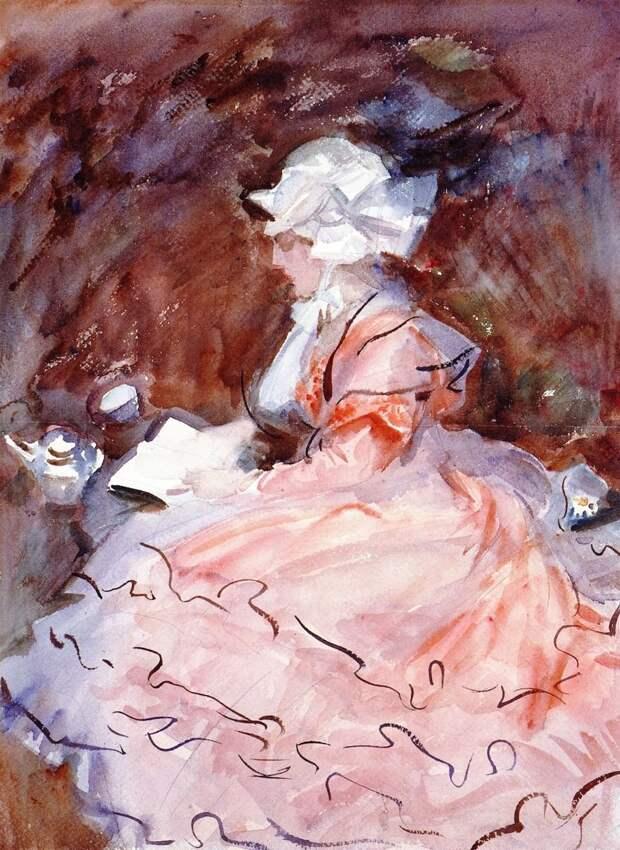 """""""Близ тебя светла душа моя.."""".прелестные женские образы с картин Джона Сингера Сарджента"""