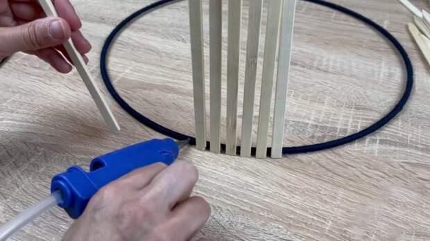 Забавная, но полезная идея из деревянных шпажек для отличного результата