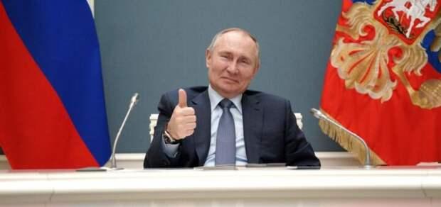 Путин ответил деду-голограмме