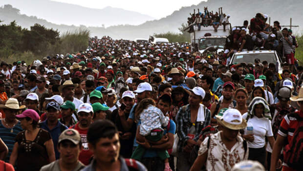 Караван мигрантов: дорога жизни и смерти