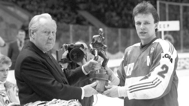 Как хоккеист Фетисов вернул СССР золото чемпионата мира. В 1986-м он забил решающий гол в переполненных «Лужниках»