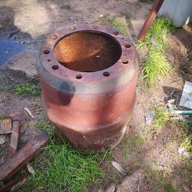 Делаем печь из металлолома своими руками