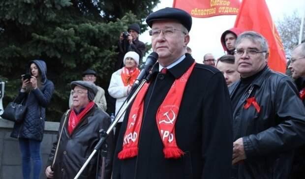 Омский коммунист Жарков объяснил, за что его исключили изКПРФ
