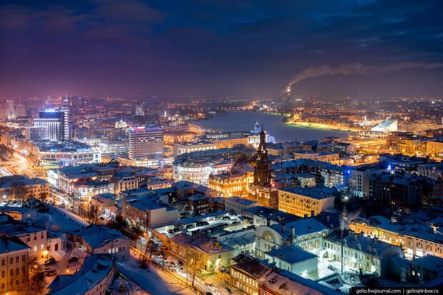 От Казани до Улан-Удэ: названы лучшие по качеству жизни города России