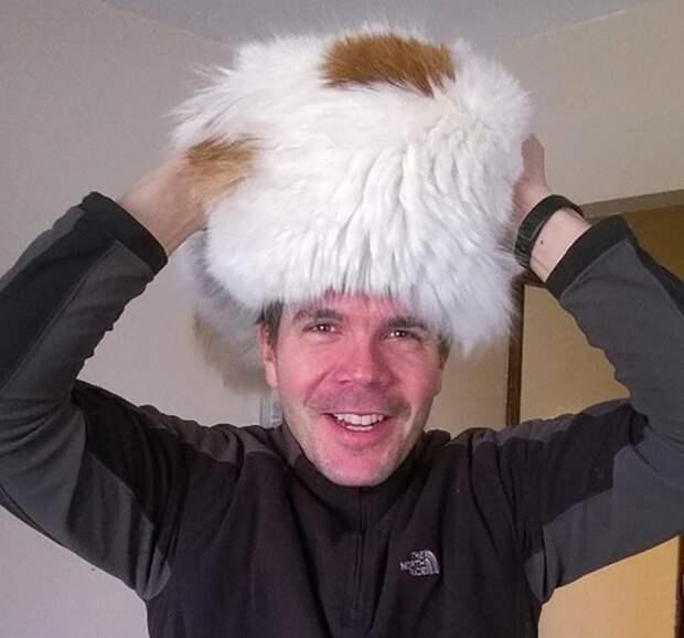 12. И никакие морозы не страшны Популярность, животные, идея, интернет, кот, фото, шапка