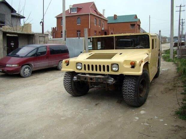 6 крутых самодельных внедорожников Hummer H1