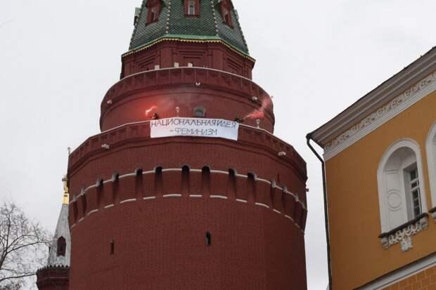 """Феминистки горюют: Они Кремль и Питер """"захватили"""", а их отпустили"""
