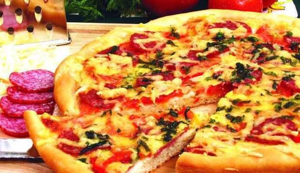 Пицца - 3 моментальных варианта теста и 7 лучших начинок