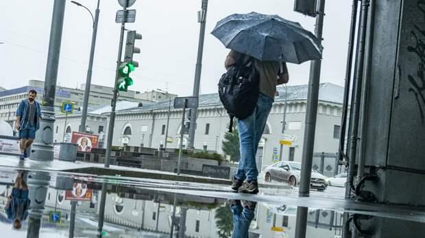 В центре погоды «Фобос» пообещали дожди в выходные в Москве