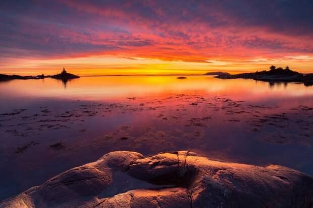 Очарование севера: норвежская природа на снимках Оле Моена