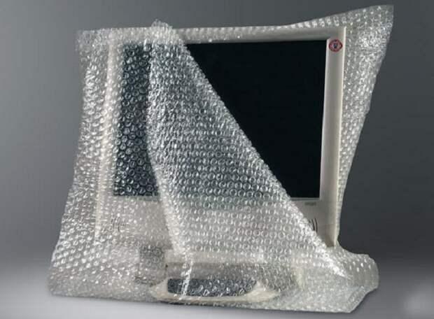 Воздушно-пузырчатая пленка сегодня используется для упаковки повсеместно / Фото: navro.org
