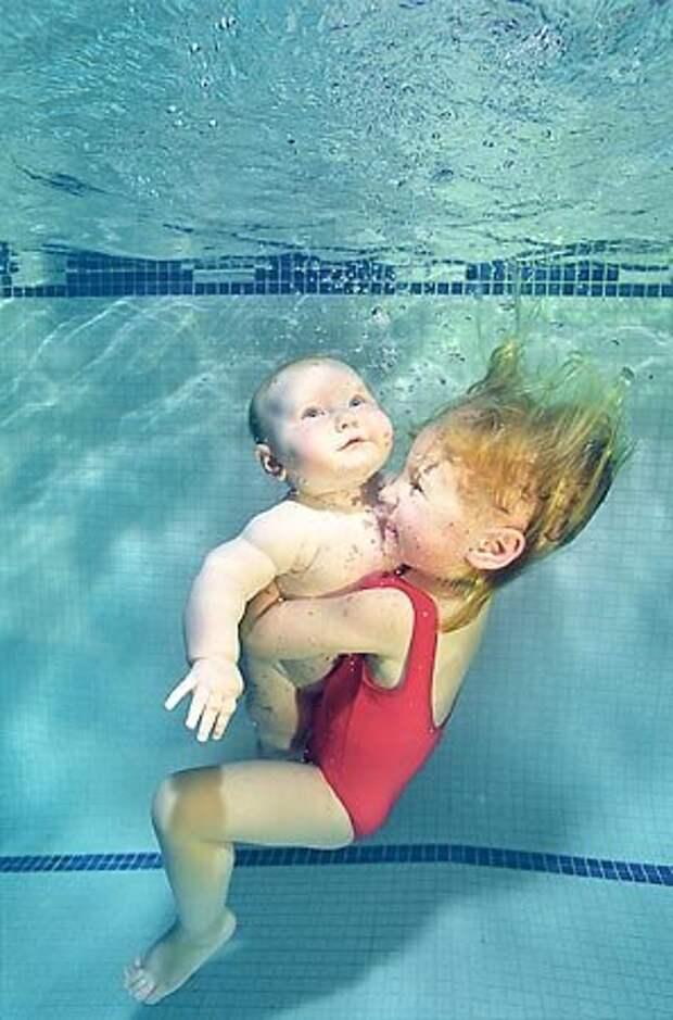 Подводные дети (80 фото)
