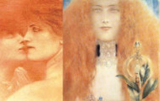 Современное искусство: Одержимость кругами, городом детства и собственной сестрой: Странности символиста Фернана Кнопфа