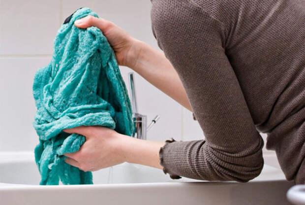 Вернуть прежний размер одежде севшей после стирки