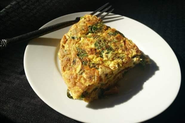 Быстрый сырный омлет с тунцом: вкусный и питательный завтрак