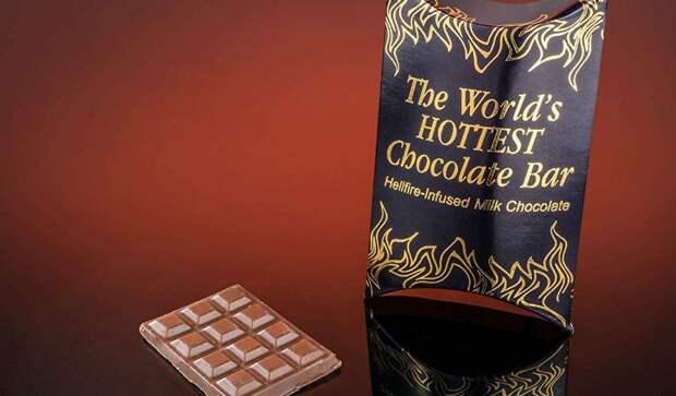 Самый острый шоколад в мире: огонь во рту