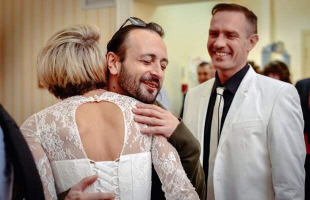 Башаров украсил свадьбу фигуристов своими шутками: фото
