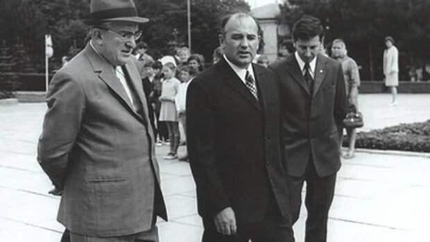 Андропов и Горбачёв