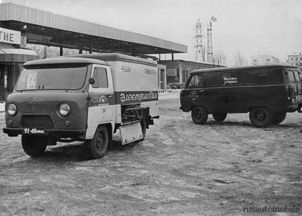 Электромобиль У-131, созданный на базе УАЗ-451 в 1974 году. Что ты на это скажешь, Илон Маск?