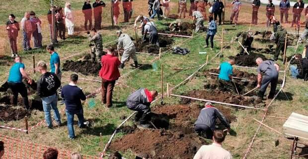 Про первый в России конкурс по скоростной копке могил